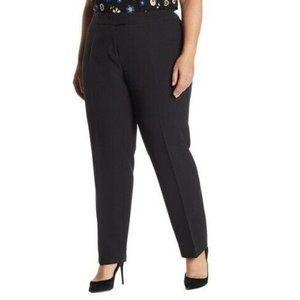 Anne Klein 16W Black Comfort Waist Pants NWT AI41